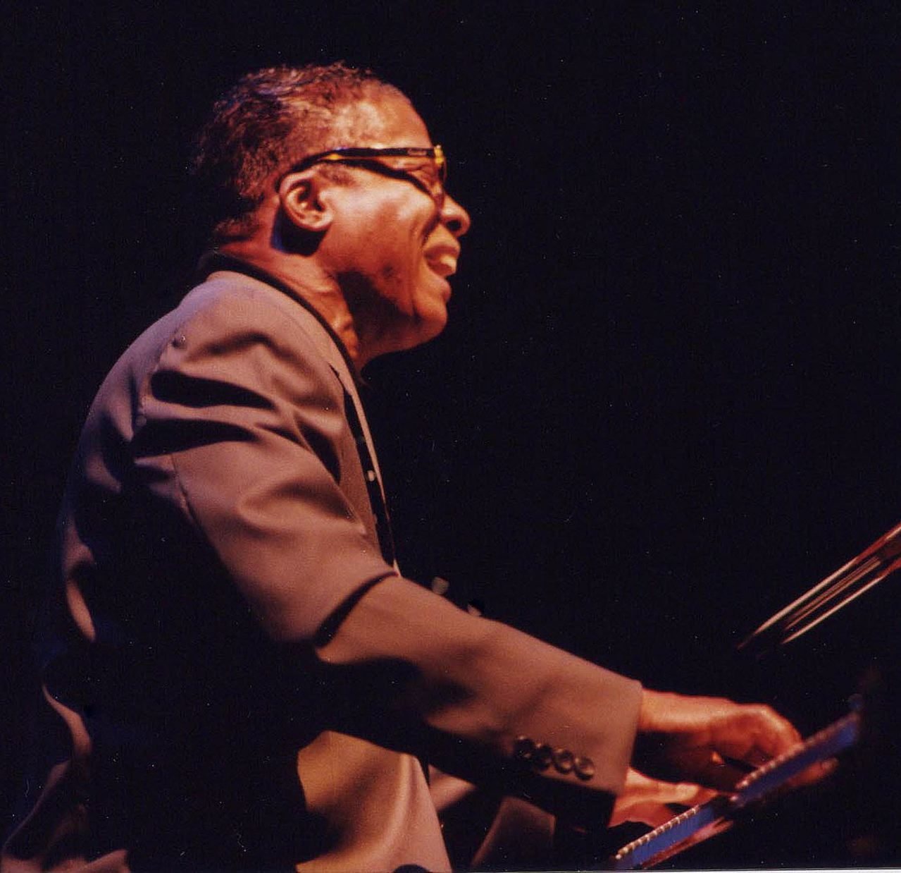 Herbie Hancock Playing