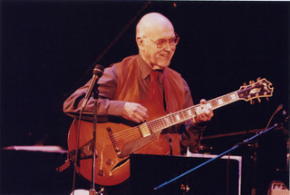 Jim Hall lead a guitar blowout