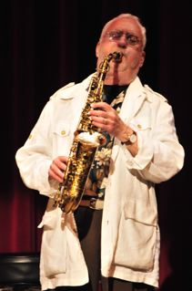 Lee Konitz Playing Saxophone