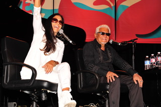 Sheila E and Pete Escovedo