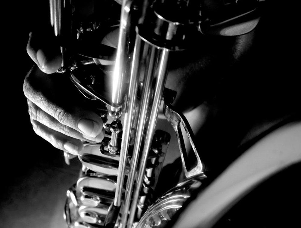 Closeup of Trumpet