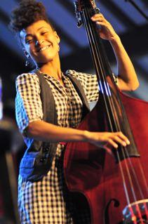 Esperanza Spaulding Performing