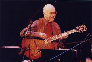 Jim Hall lead a guitar blowout