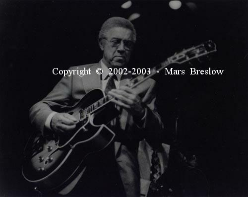 Kenny Burrell Performing