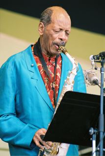 Ornette Coleman Performing