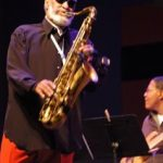 Sonny Rollins Playing Saxophone